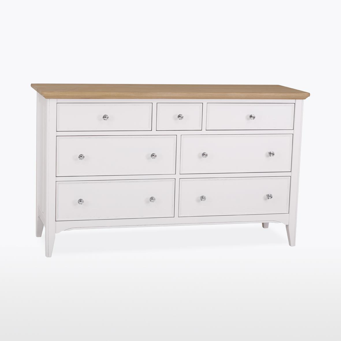 NEW ENGLAND -  7 Drawer Chest (4+3) NEL804