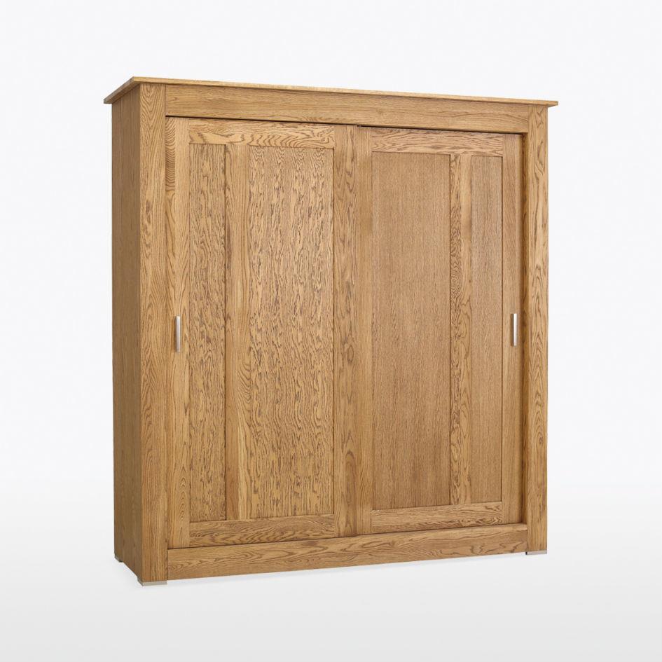 QUERCIA -  Sliding Door Wardrobe QER808 Weathered Oak