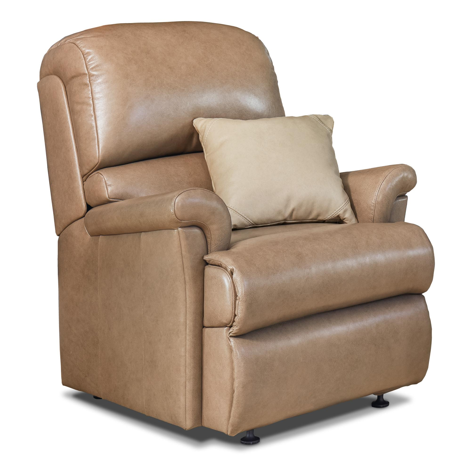Nevada Leather Chair - by Sherborne
