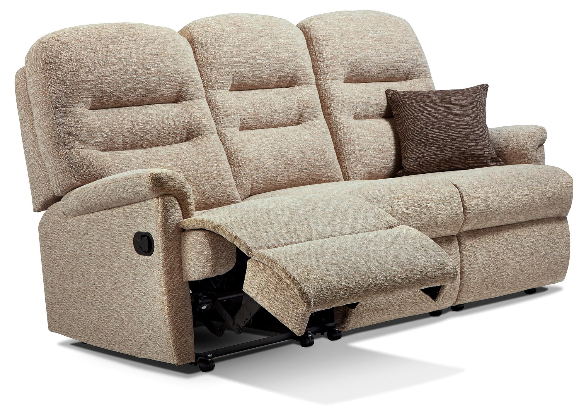 KESWICK - 3 Seater Reclining Settee & Powered Chair - by Sherborne