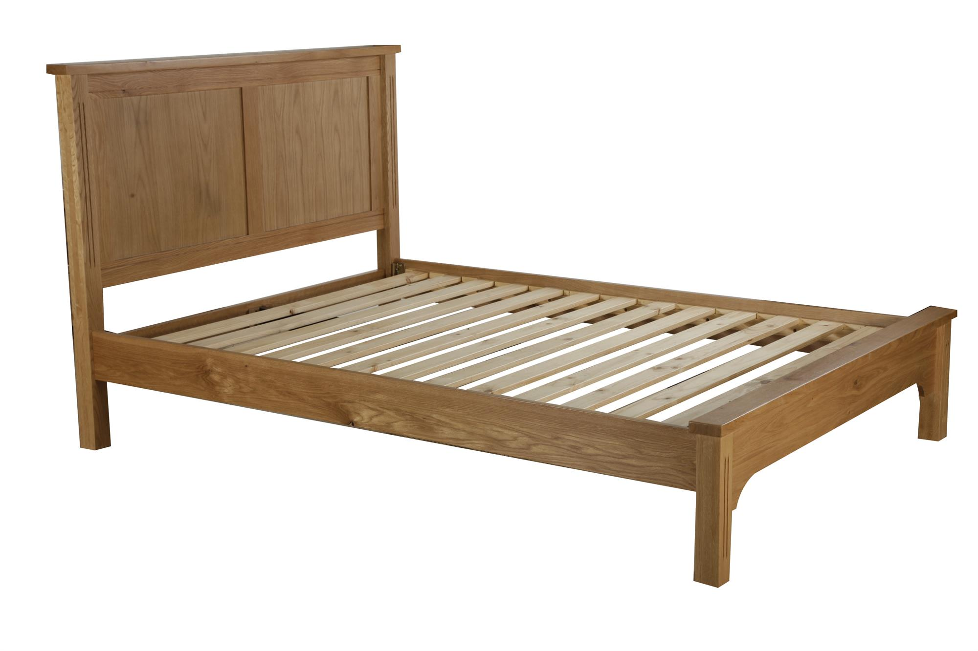 Hampton Court Bed Frame Low Footend - Double size