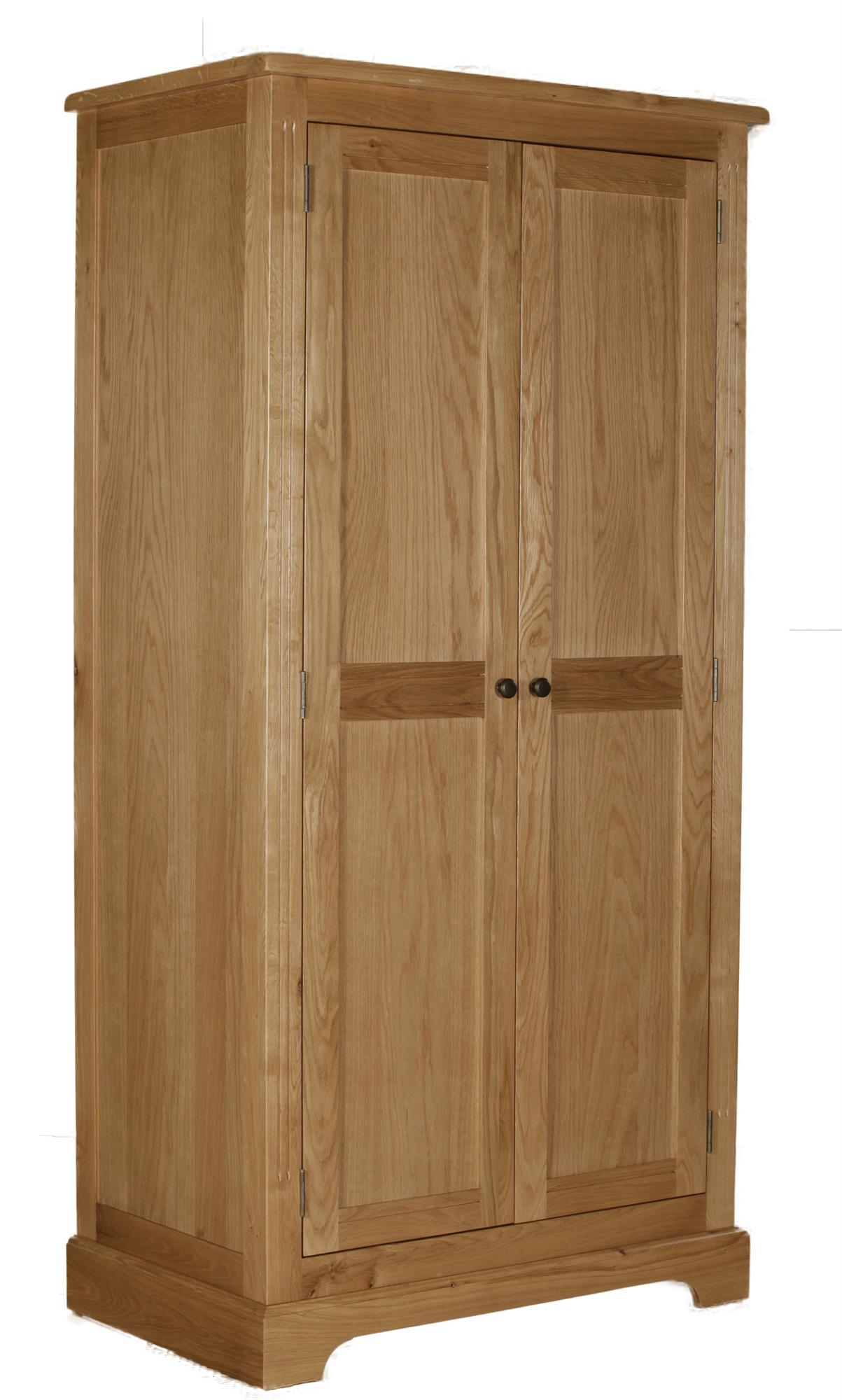 Hampton Court Oak Double Robe