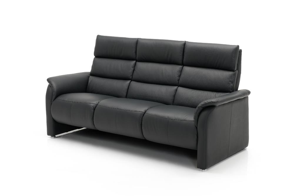 JUTLAND Leather 3 seat sofa