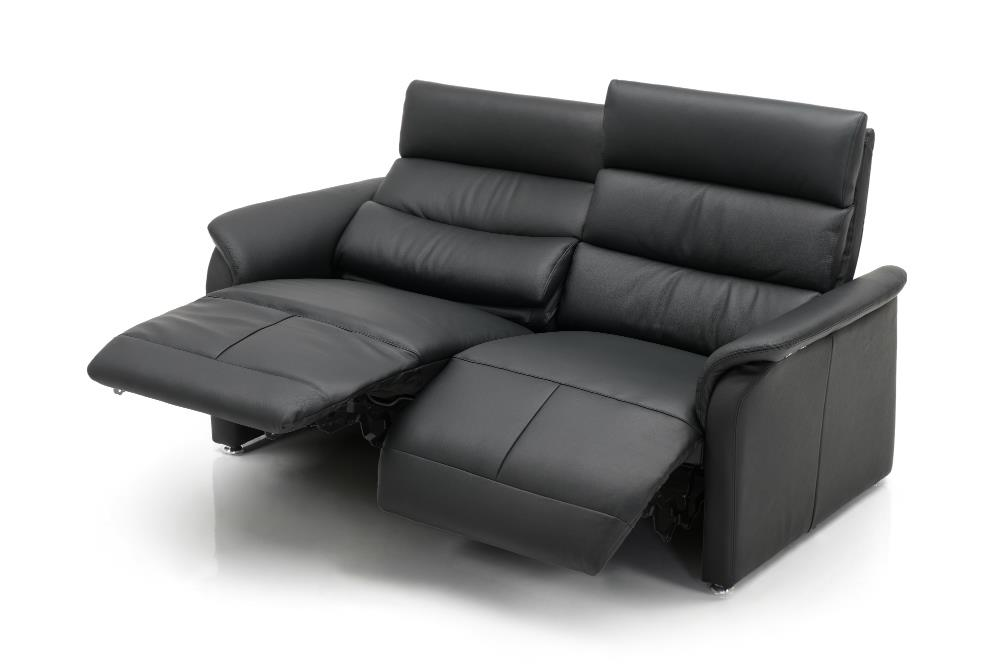 JUTLAND Leather 2 seat sofa