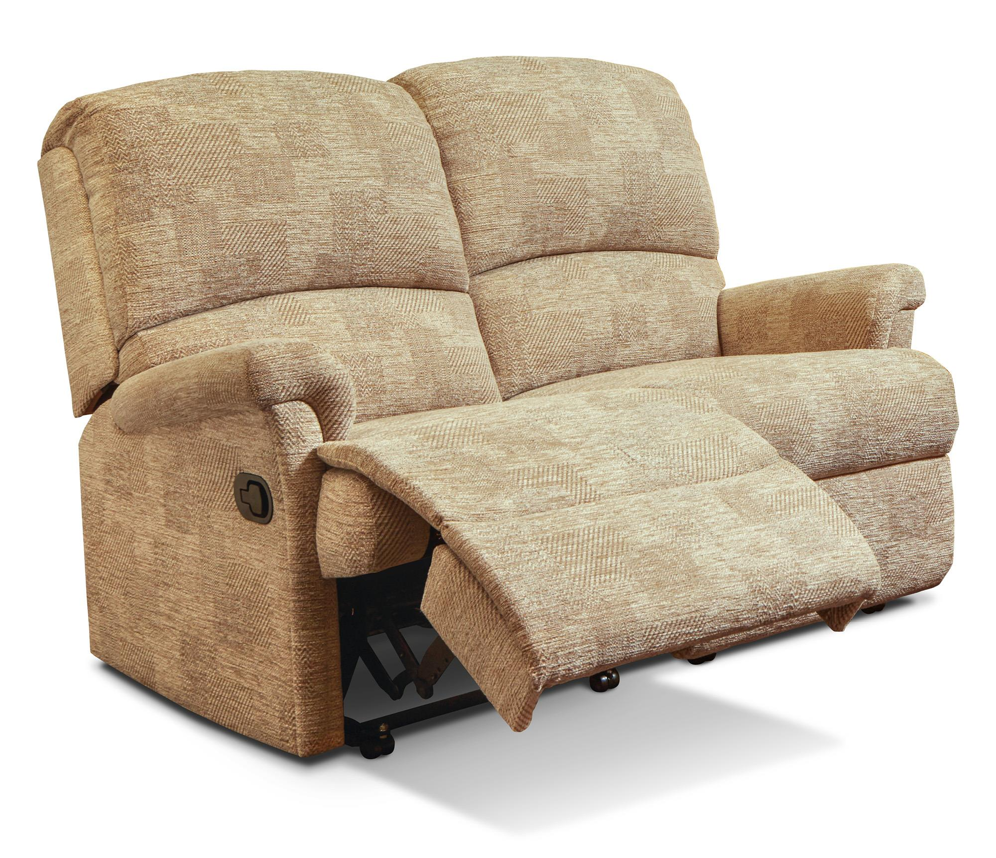 Nevada  2 Str Powered Reclining Settee - by Sherborne