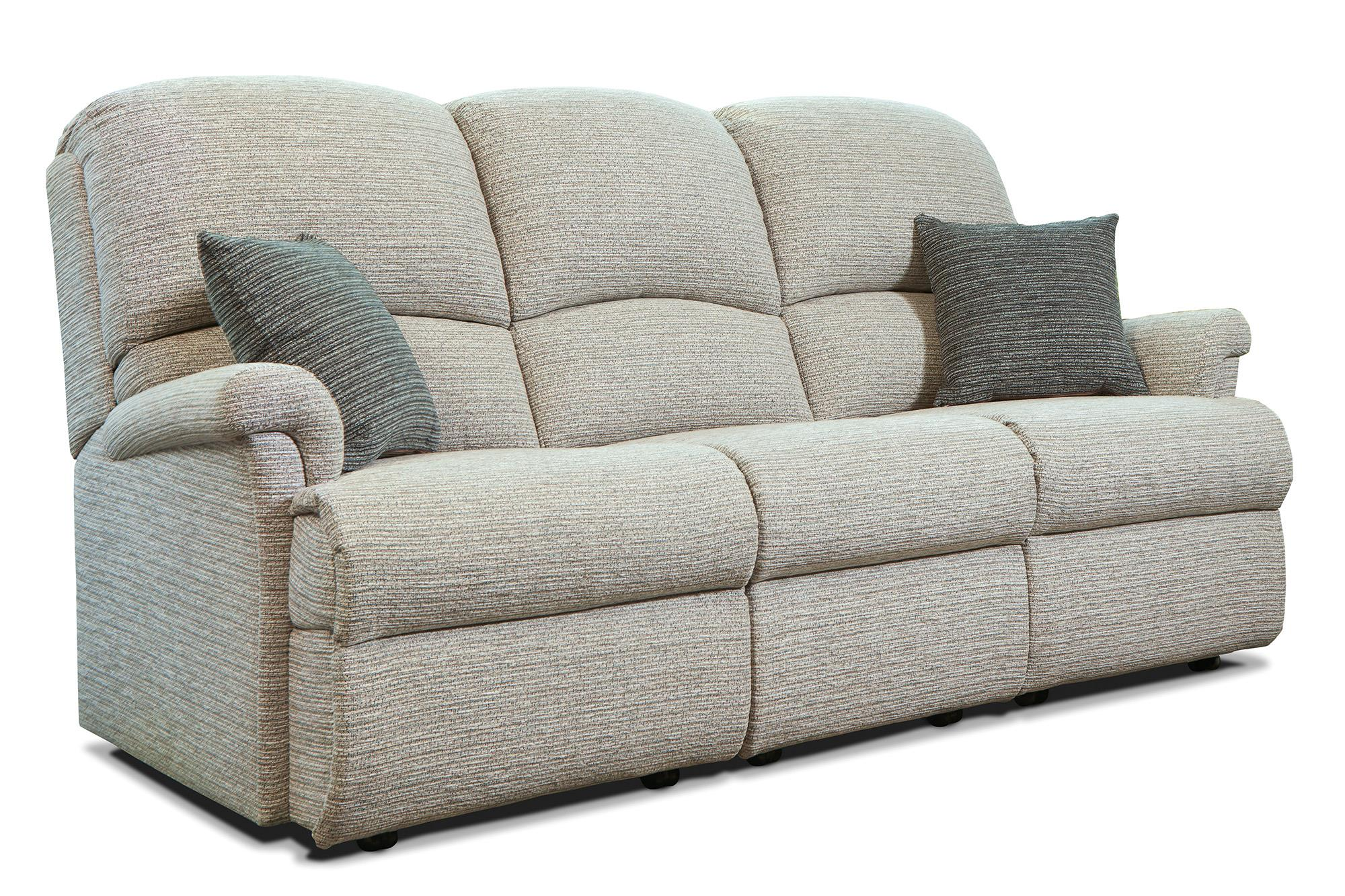 Nevada 3 Str Settee - by Sherborne