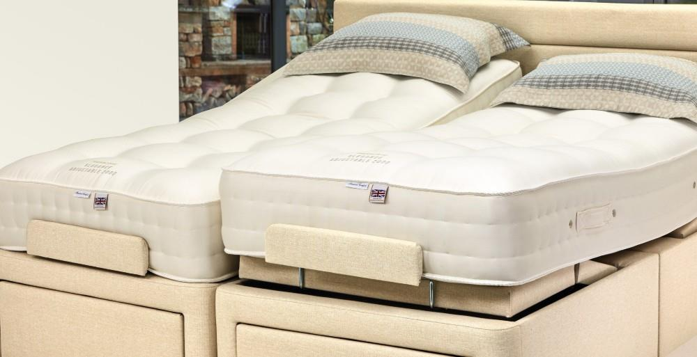 ELEGANCE 2000 Pocket Sprung Mattress by Sherborne