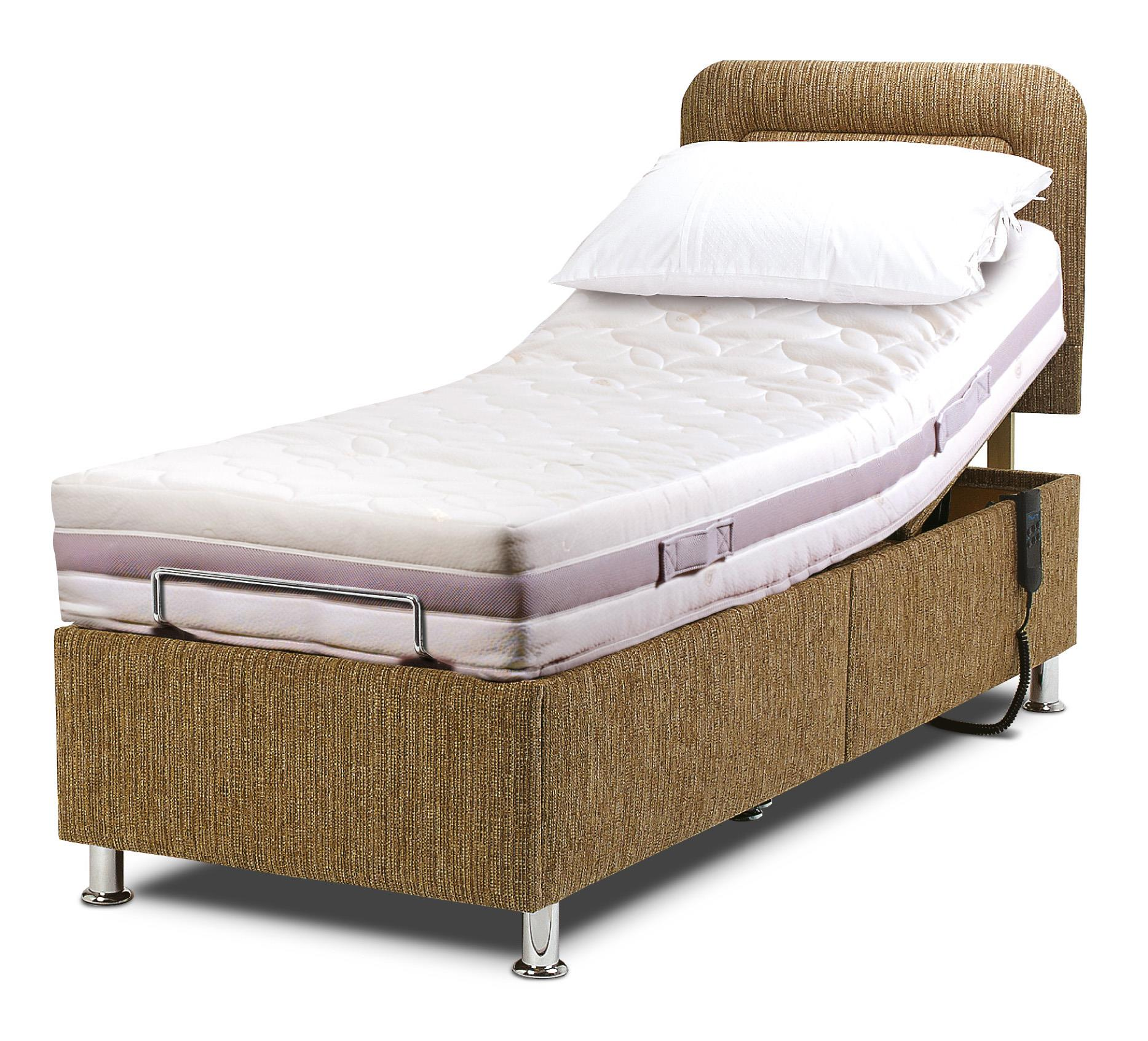 Sherborne - 3ft HAMPTON Electric Adjustable bed + Headboard