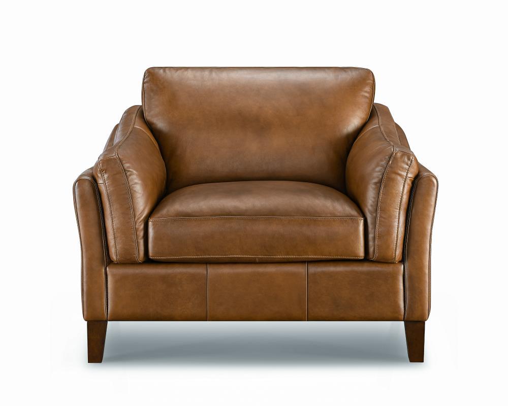 LYON leather Armchair