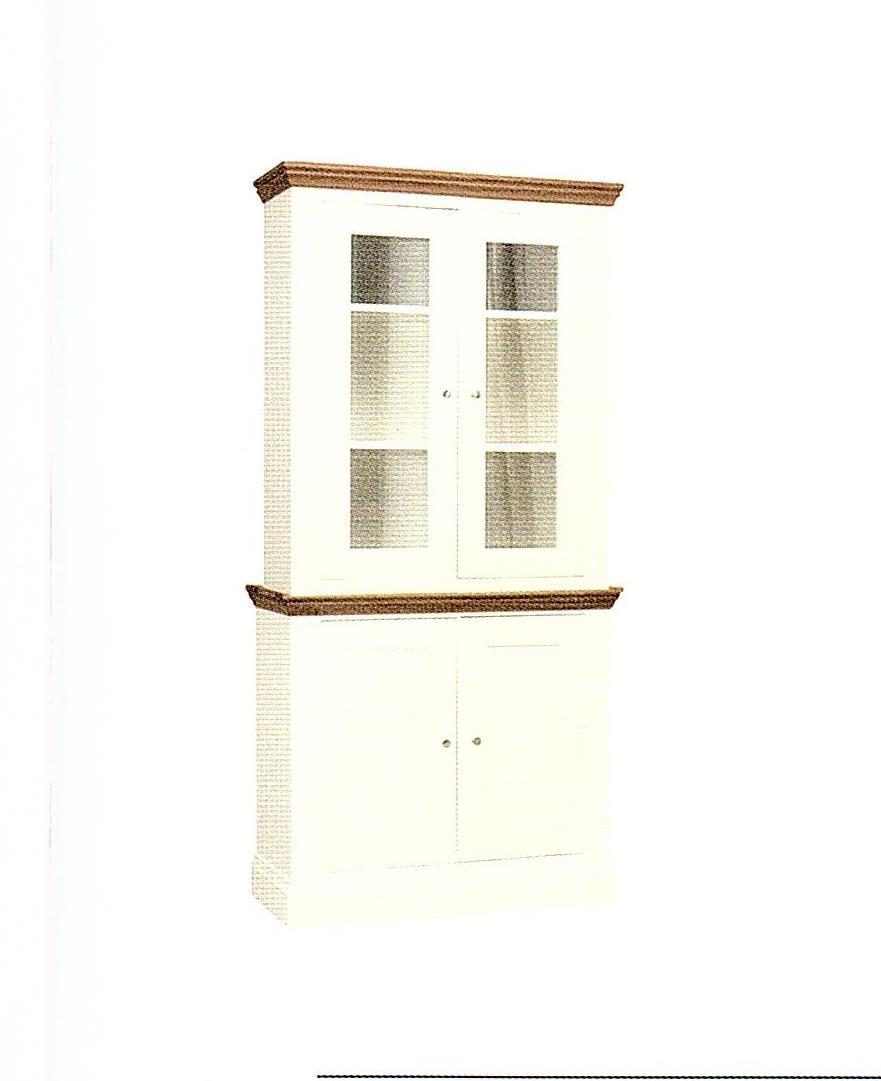 Coelo - Small 2 Door Display Dresser Cabinet 511/512G