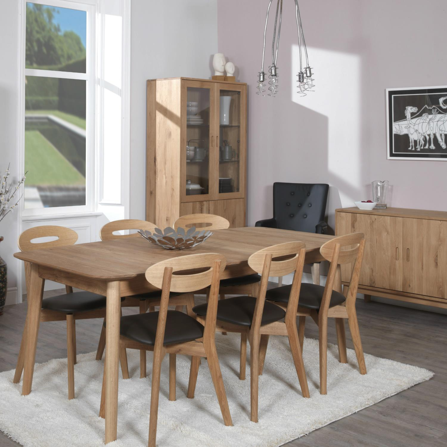 Rock n Roll - Ellipse Dining Table - Fixed