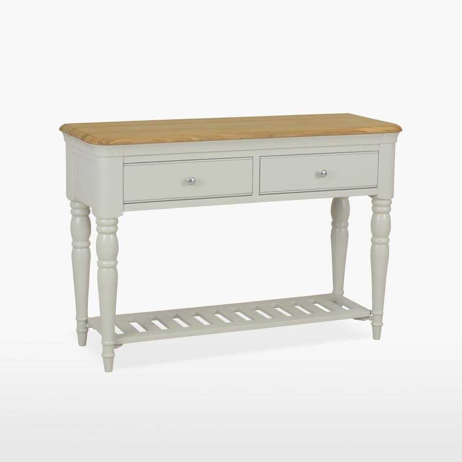 CROMWELL - Console Table with 2 Drawers
