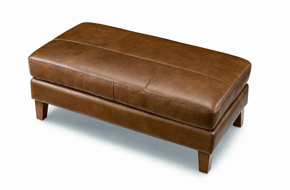 LYON leather Footstool