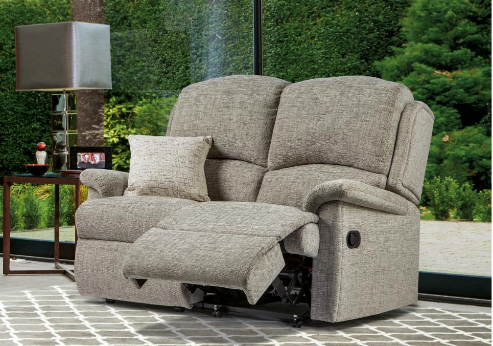 VIRGINIA - 2 Seat Reclining Settee - by Sherborne