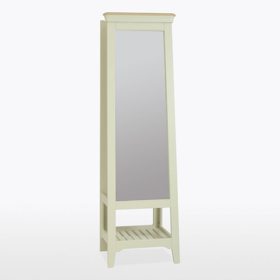 CROMWELL - CHEVAL Mirror - CRO833 Toasted Almond & Oak