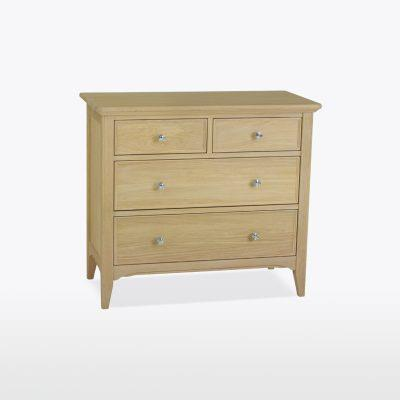 NEW ENGLAND OFFER - 2+2 Chest of Drawers MIST OIL  NEL803
