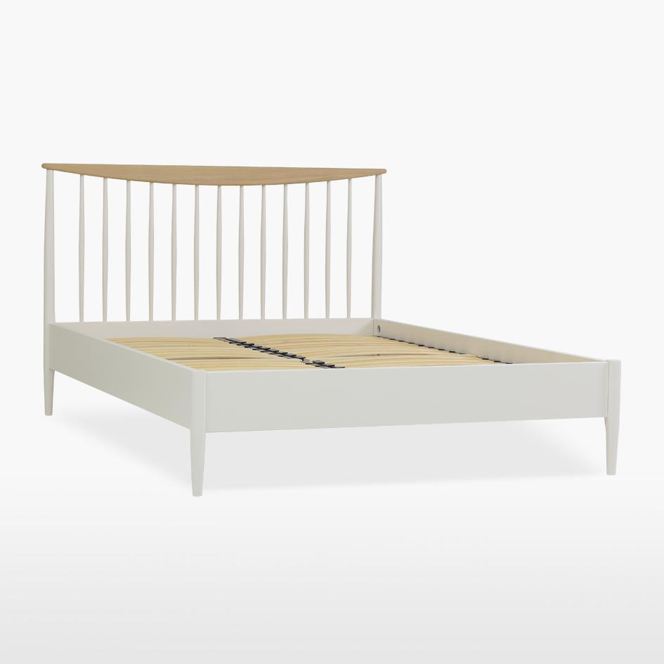 ELISE OFFER - KING Size Slat Bed Frame - HAZE