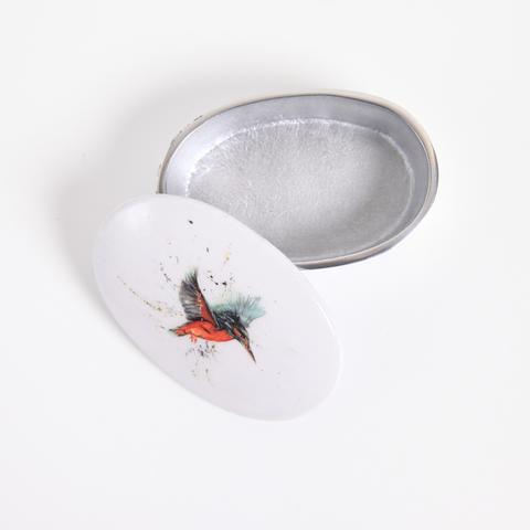 King Fisher - Meg Hawkins - Wild life Collection - Trinket Box