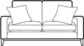 FAIRMONT - 3 Seater Sofa