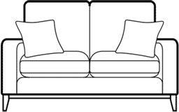 FAIRMONT - 2 Seat Sofa