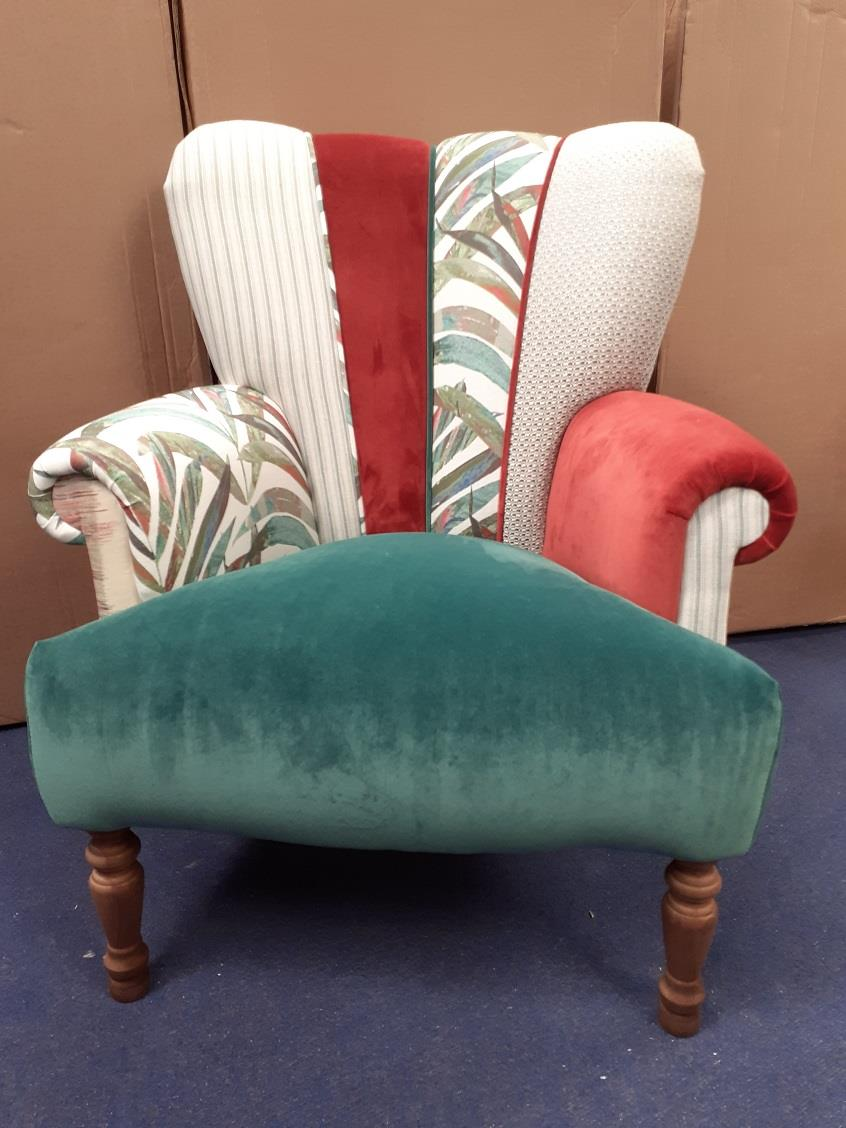 HARLEQUIN Chairs by Hunter Knight - Sea Blue scheme