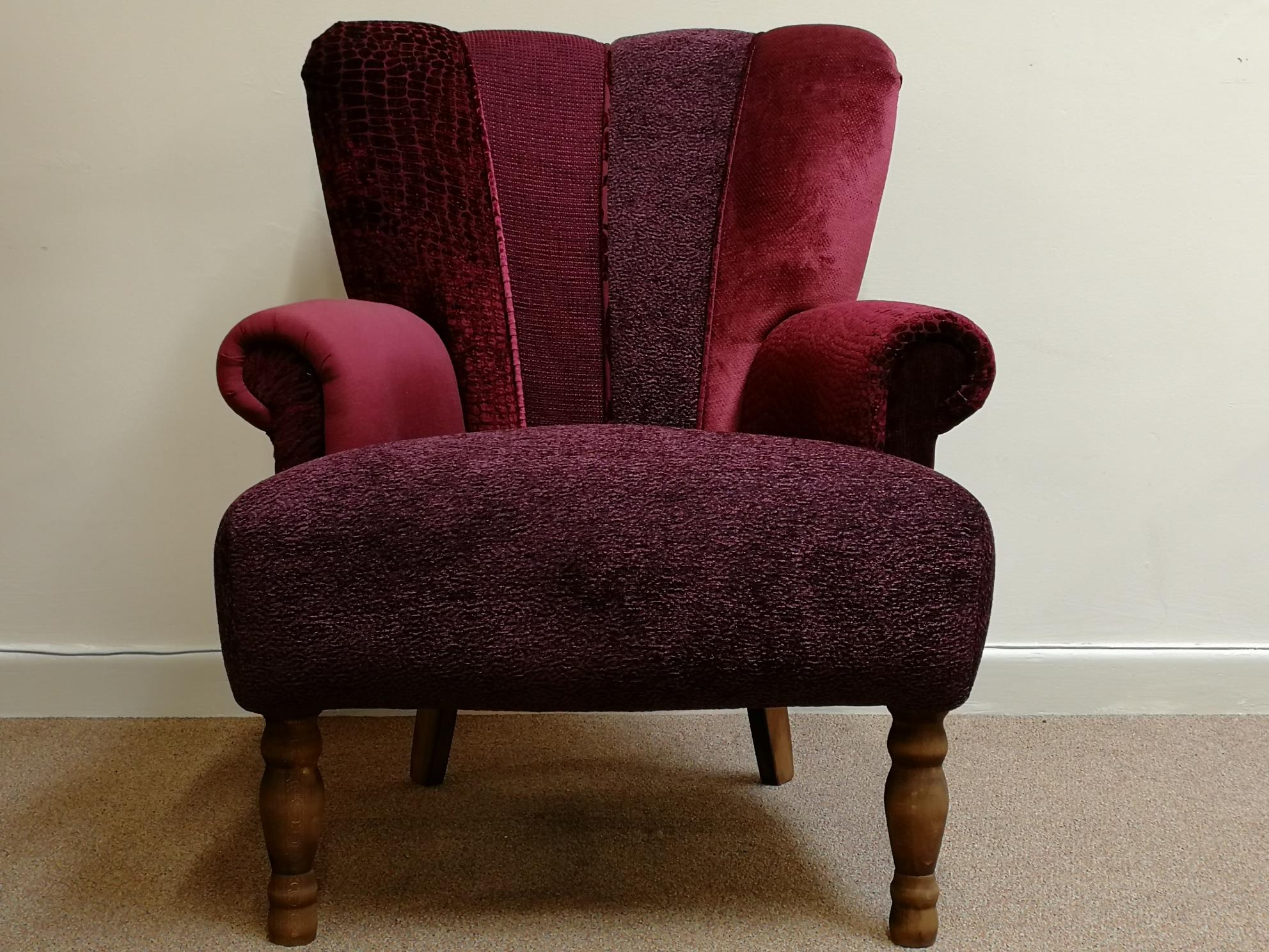 HARLEQUIN Chairs by Hunter Knight - Red