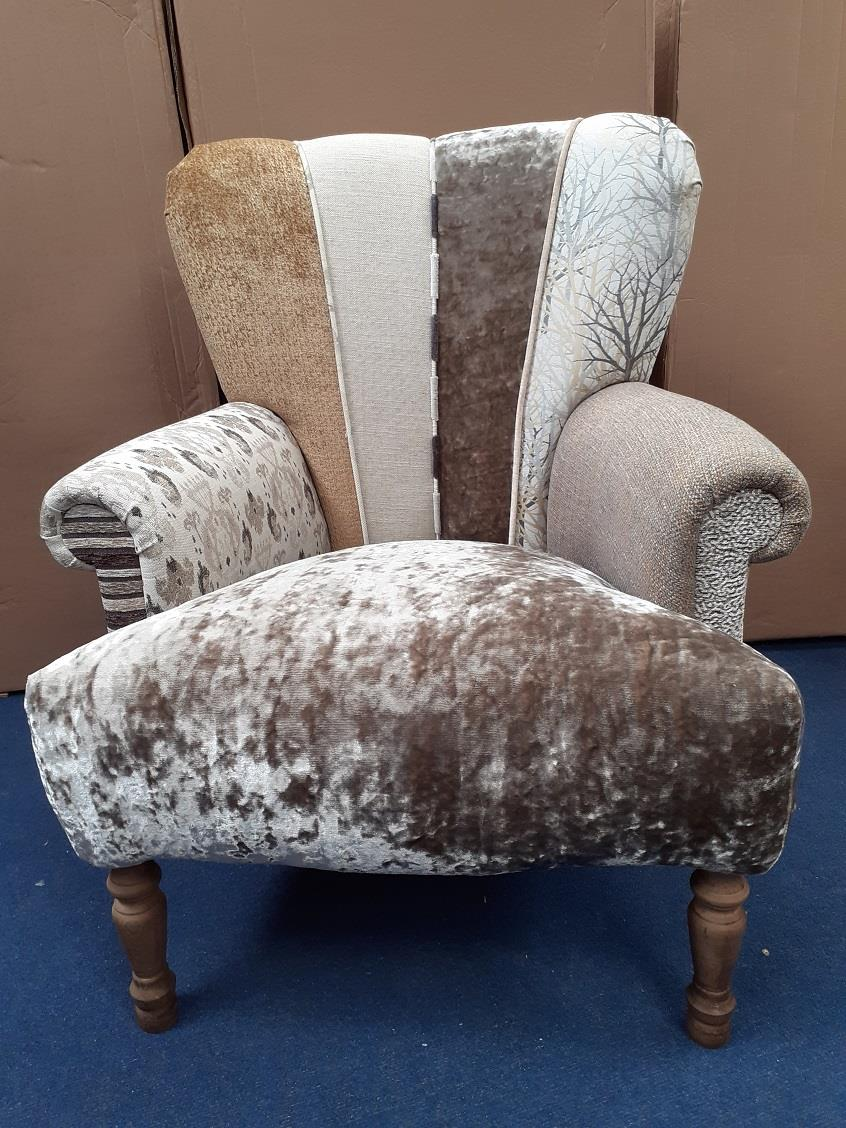 HARLEQUIN Chairs by Hunter Knight - Brown & Beige