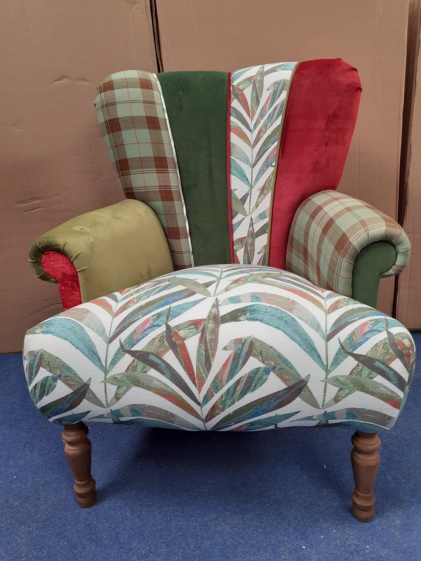 HARLEQUIN Chairs by Hunter Knight - Ferns & Tartan