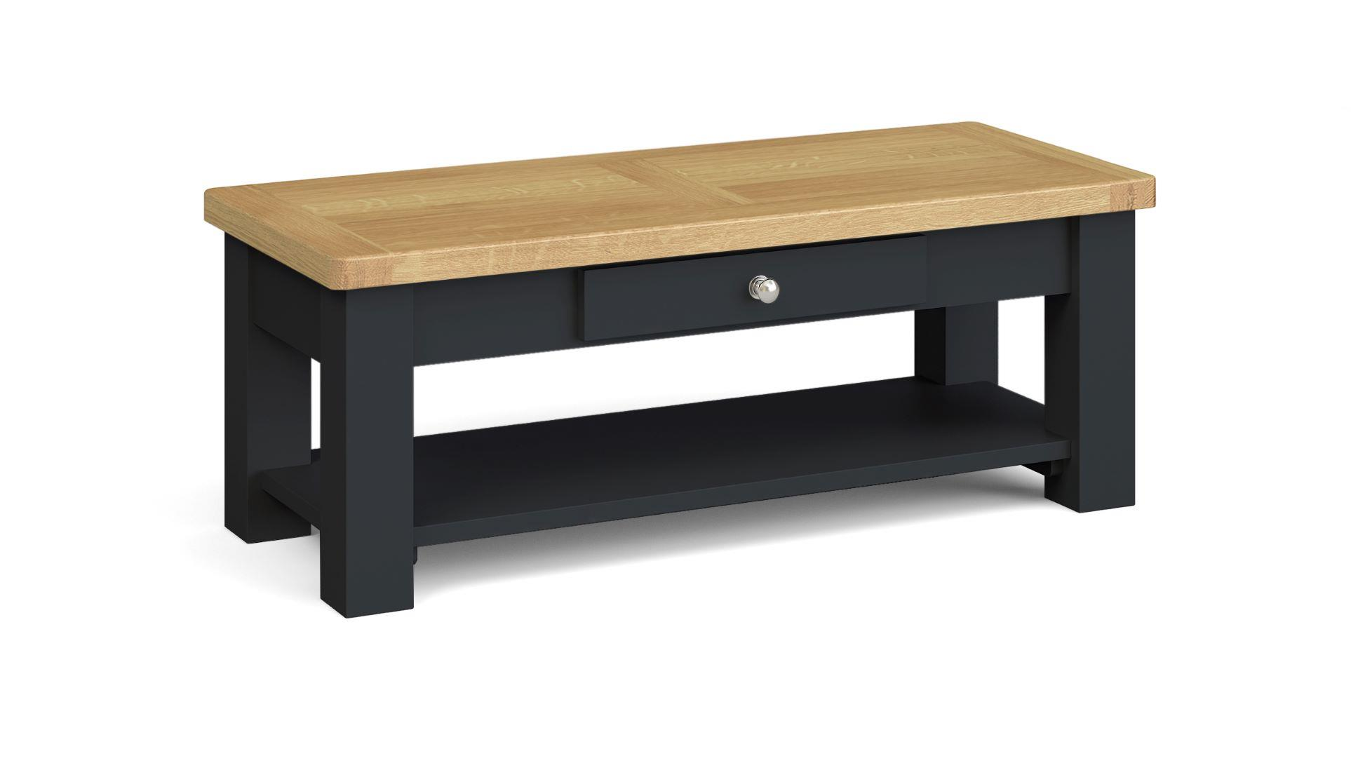 SOMERSET Coffee Table with Drawer   by Corndell