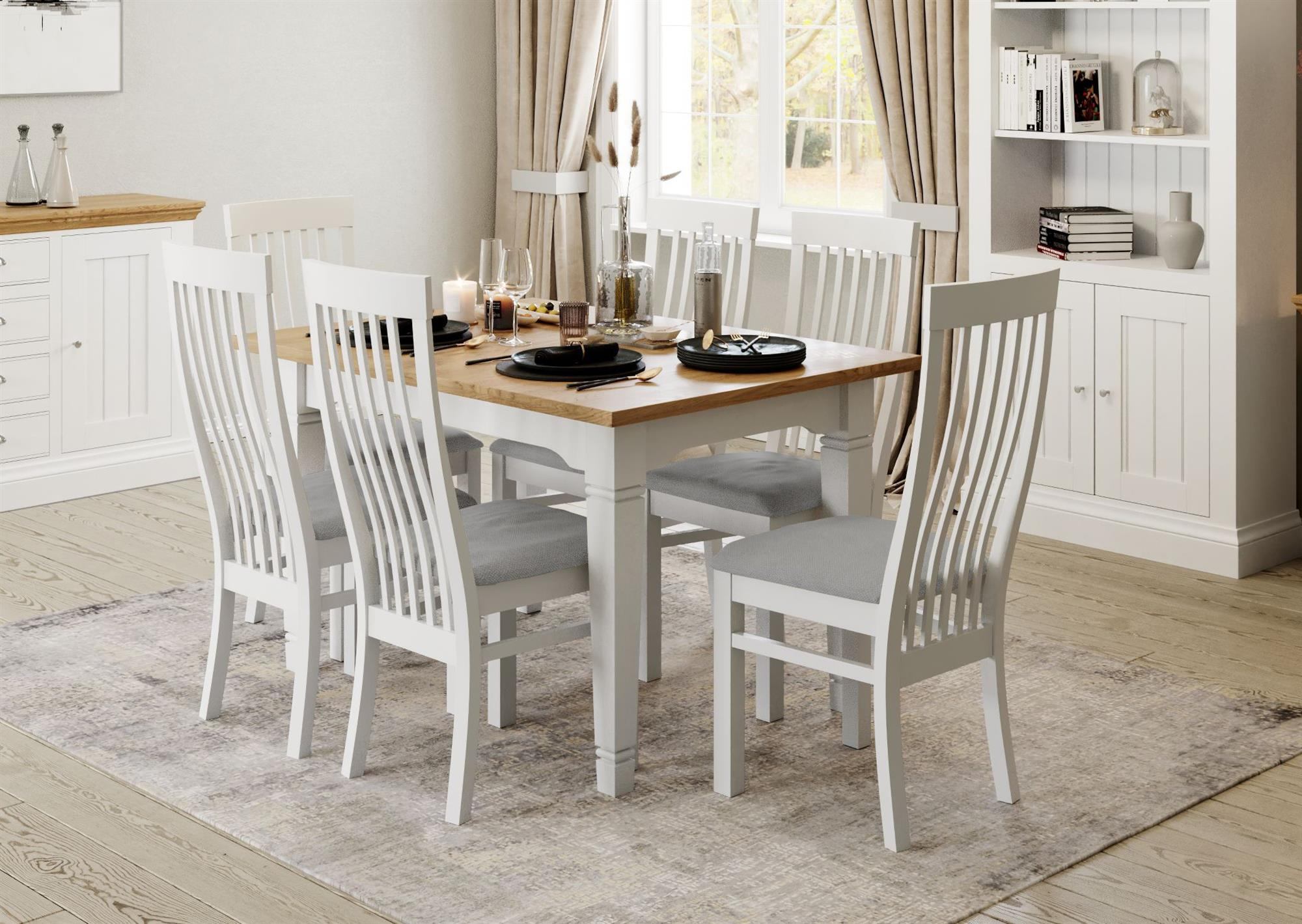Coelo - Extending Dining Table with 4 Chairs