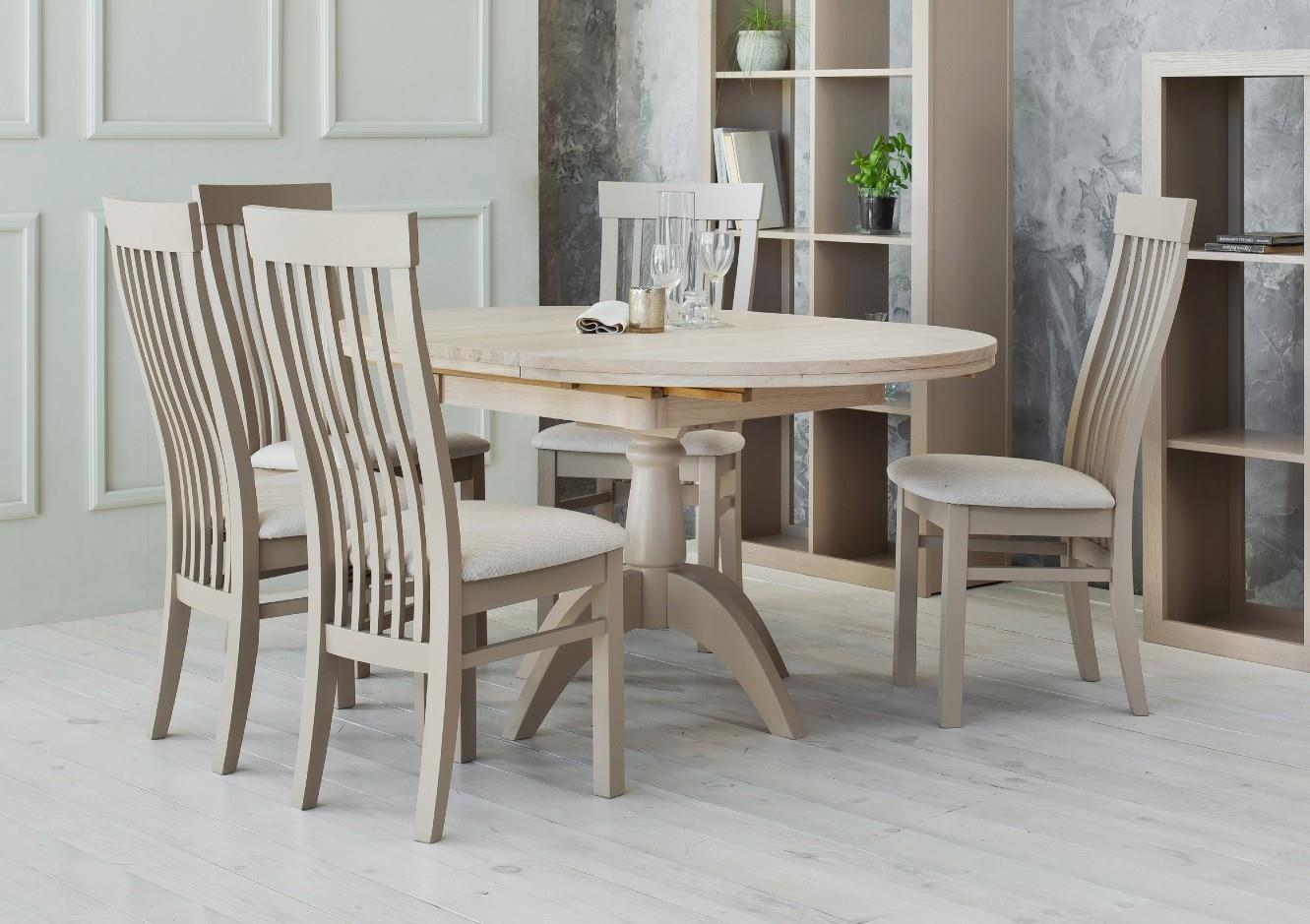 Windsor - Double Pedestal Extending Table + 6 Chairs