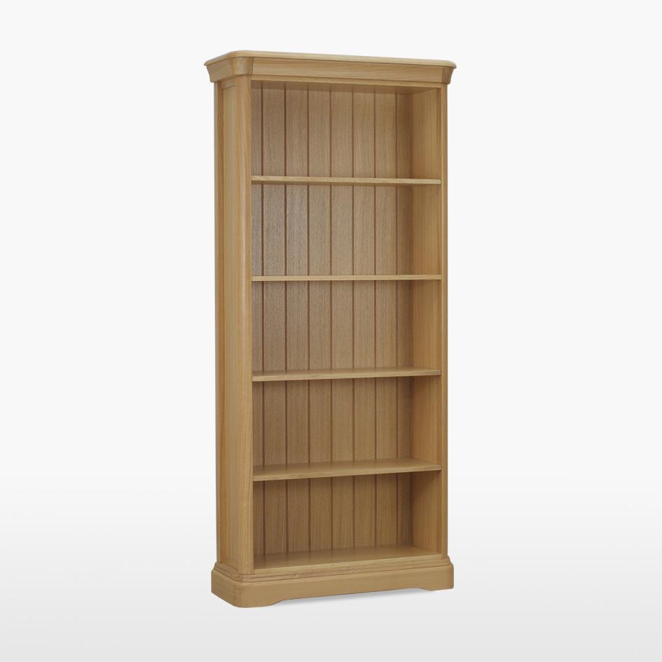 LAMONT - Tall Open Bookcase LAM506  - Mist Oil