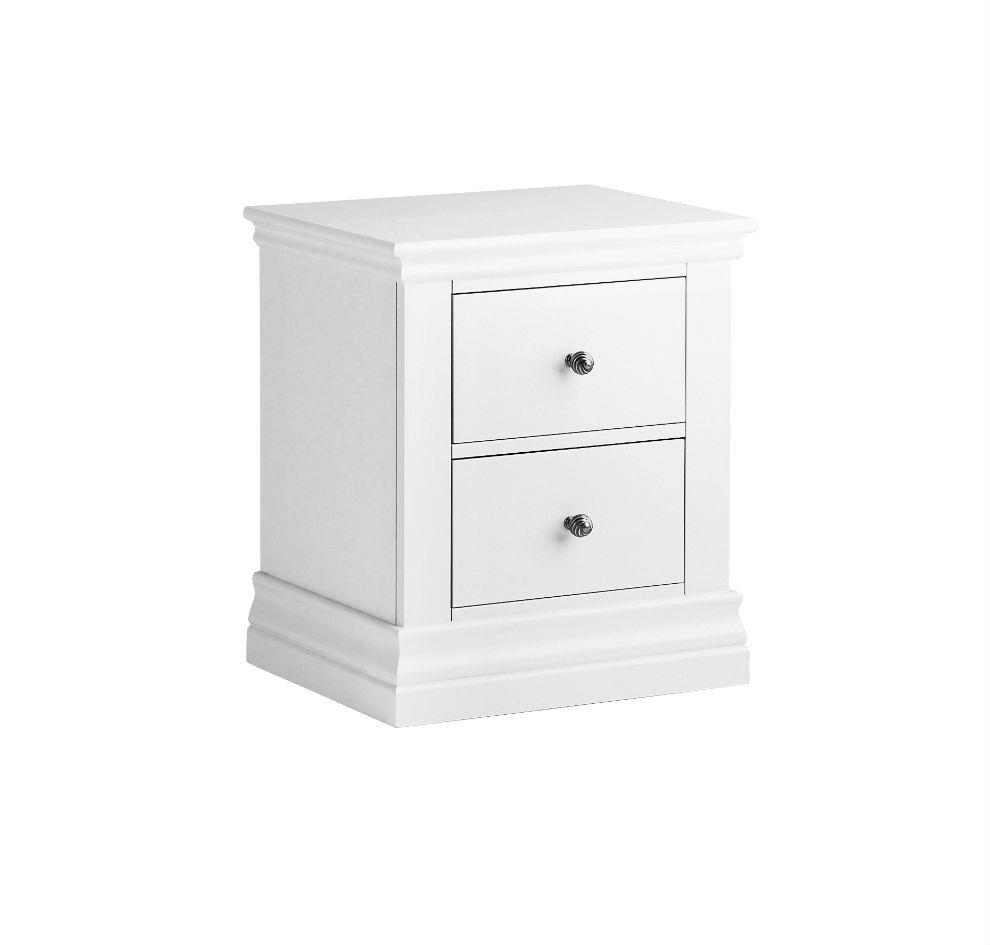 Annecy - 2 Drawer Bedside Chest - 200