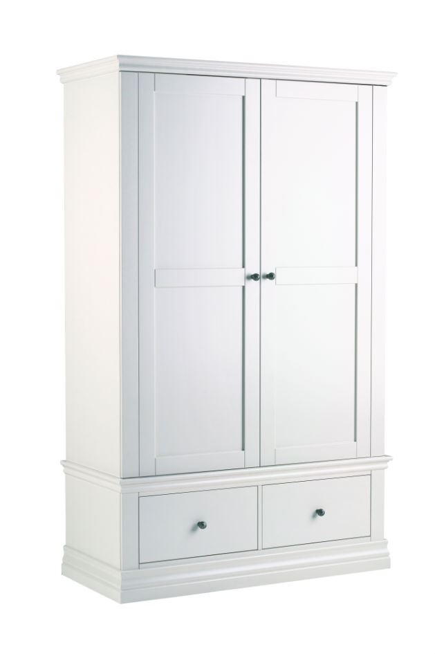 Annecy - Double Wardrobe with Drawer - 223