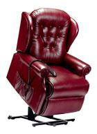 LYNTON - Leather Lift & Rise Chair by Sherborne