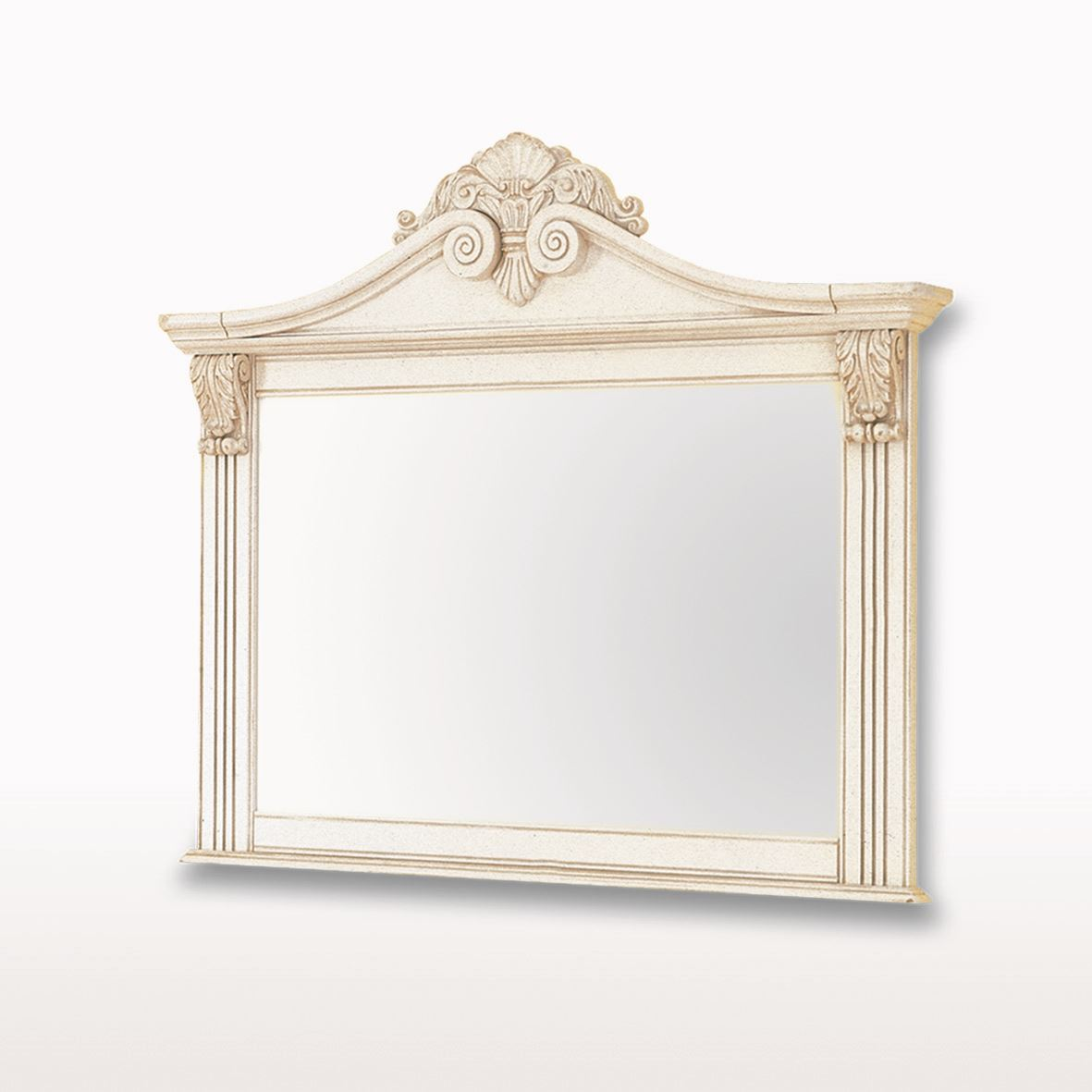 Amore' - Crested Wall Mirror - ABJ406