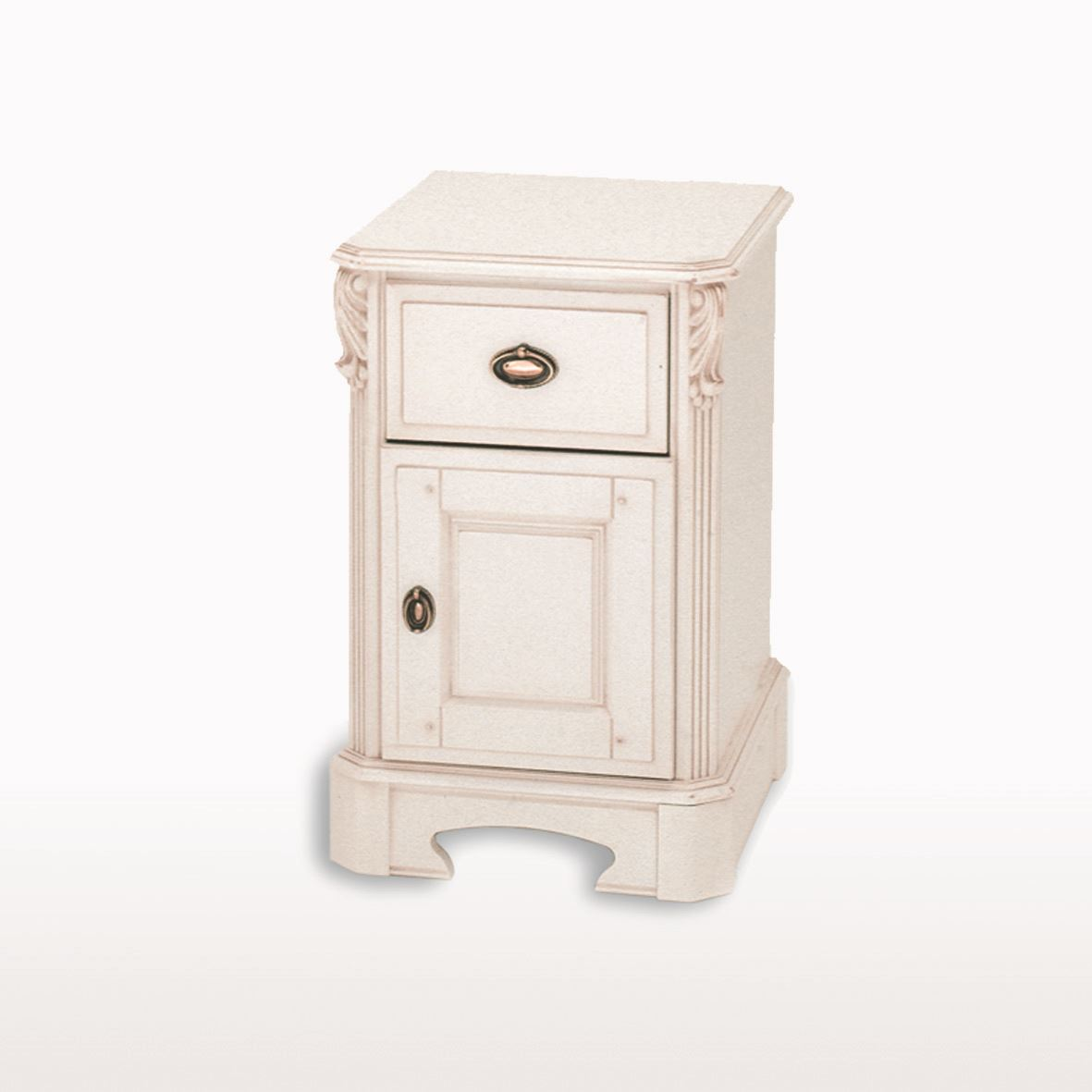 Amore' - Small 1 Drawer / 1 Door Bedside Cabinet ABJ211 L/R
