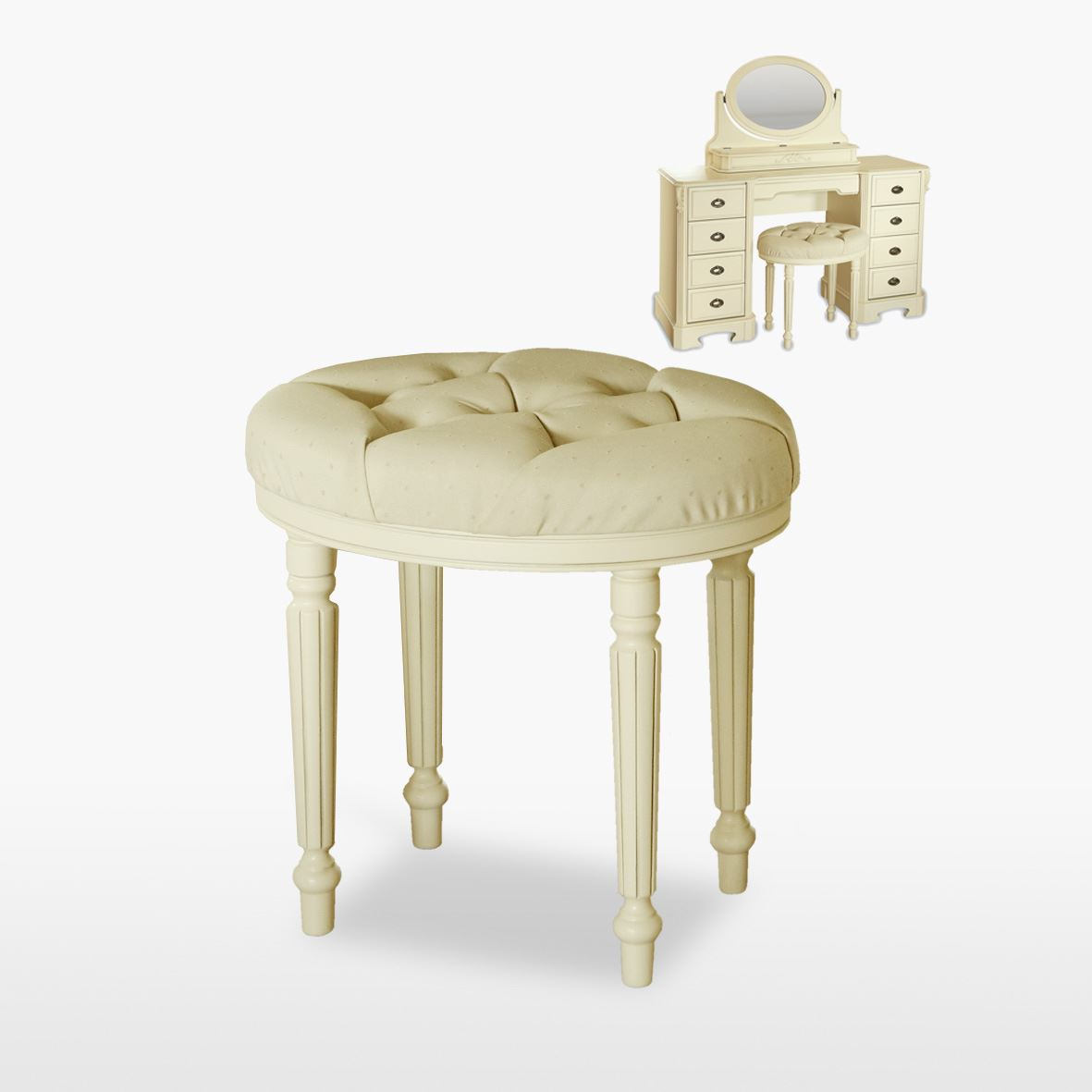 Amore' - Oval Stool - ABJ50