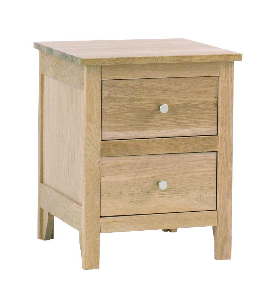 Nimbus - 2 Drawer Bedside Chest - 1200
