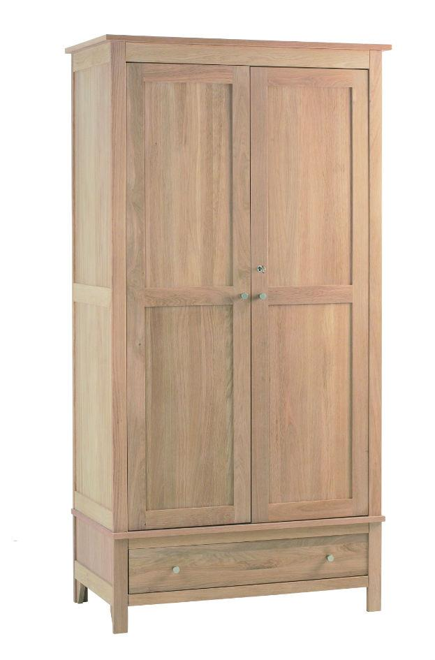 Nimbus - Double Wardrobe with Drawer - 1224