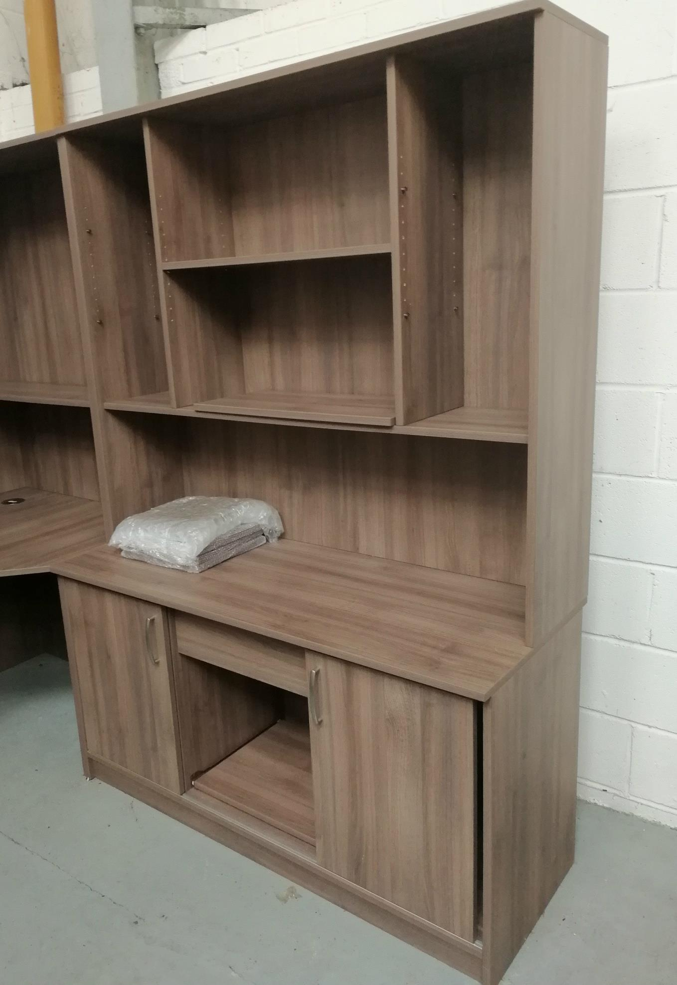 Corndell PURE OFFICE - 2 Drawer Wide Cupboard and Top Unit