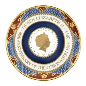 Royal Worcester - H.M.Elizabeth II 60th Aniversary of the Coronation