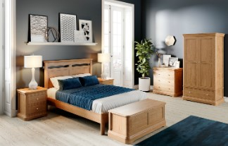LAMONT Oak Bedroom Furniture by TCH