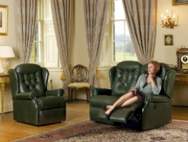 LYNTON - Leather Upholstery