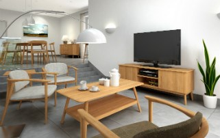 MALMO - Retro Oak Furniture Collection