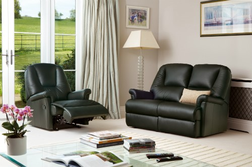 MILBURN Leather Upholstery Collection by Sherborne