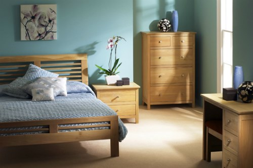 Nimbus Oak Bedroom Furniture by Corndell