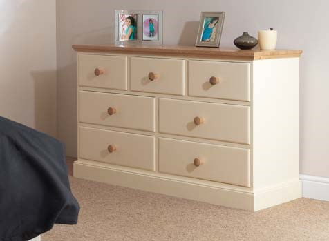 CORNISH - Painted Pine Bedroom Furniture