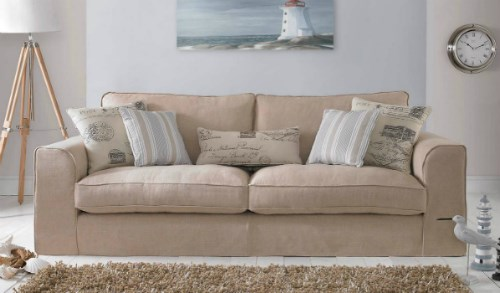 SAUNTON - 2 seater settee  with Removable Covers