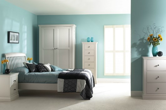 ANNECY Painted Bedroom Furniture by Corndell
